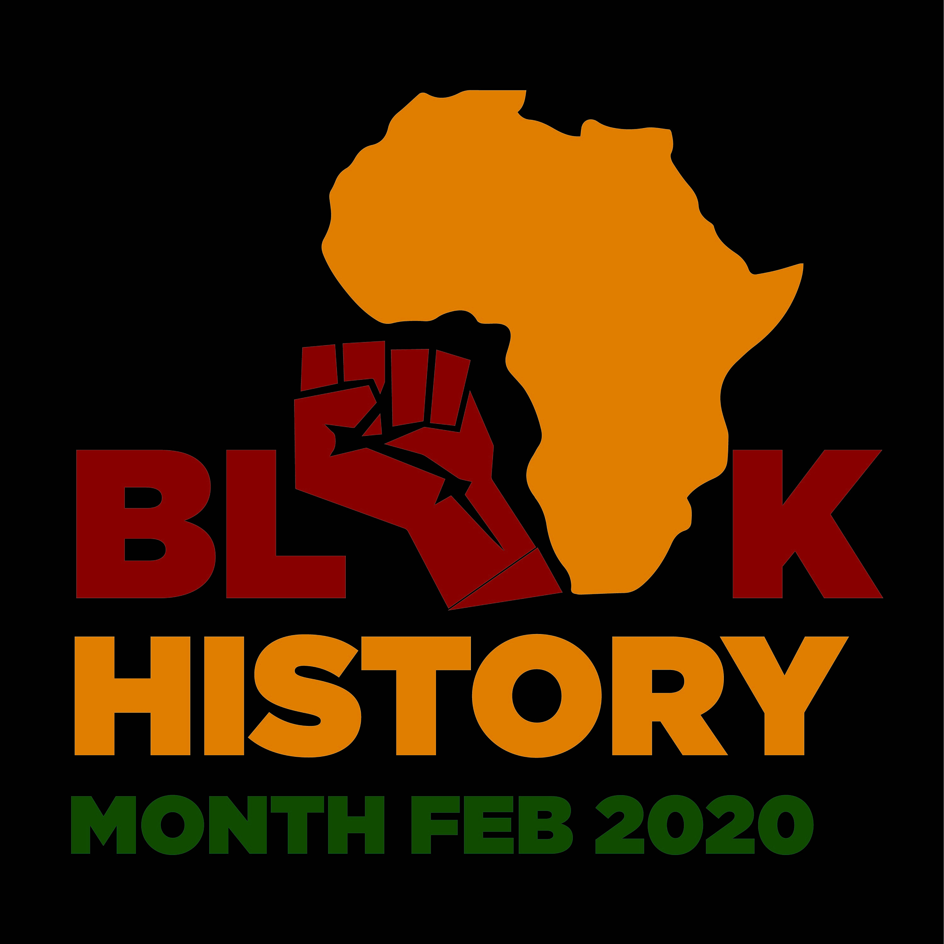 Image of Africa. Black History Month 2020