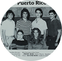 Members of Puerto Rico 51 in 1982