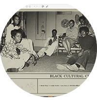 Black Cultural Center Students in 1978