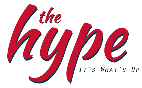 Text Logo, The Hype, It's what's Up