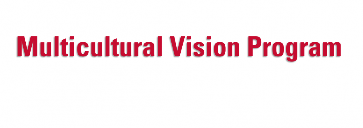 Welcome to the Multicultural Vision Program