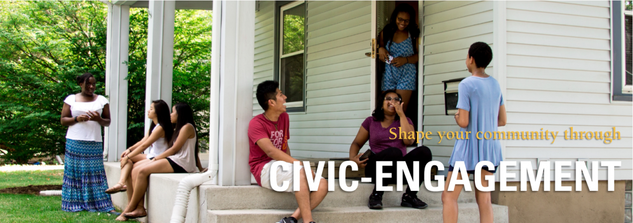 Shape your community through civic engagement.