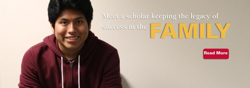Andy is the third member of his family to attend Iowa State University as a Multicultural Vision Program Scholar.  Learn about his adventure.