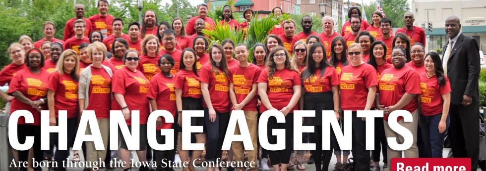The Iowa State Conference on Race and Ethnicity/National Conference on Race and Ethnicity Project (ISCORE/NCORE) provides the opportunity to discuss issues or race and ethnicity annually.